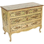 Italian Louis XV painted commode