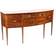 George III mahogany side board