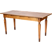 Antique directoire style farm table