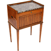 Directoire marble top occasional table