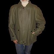 Pendleton Lobo Men's Vintage Olive / Khaki Green c1960's Outdoor Jacket Size 42 Medium