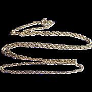 Fancy Link 14K Gold Beautiful Chain