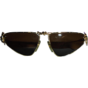Moschino Cherub Figural Sunglasses by Persol Cherubs and Heart Vintage Couture