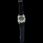 Mid Century Mod Sheffield Square Lucite Ladies Wrist Watch