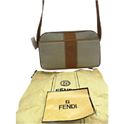 50% Off! Fendi Vintage New! With Tag, Papers & Dustbag Crossbody 1980s Bag