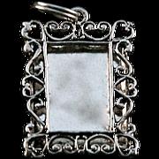 Sterling Silver 925 NV Photo Frame Charm
