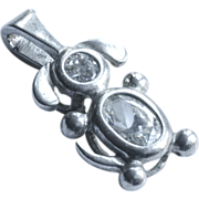 Sterling Silver 925 Floppy Eared Doggy Charm