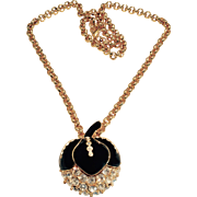 Vintage Giorgio Beverly Hills Statement Necklace