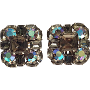 Vintage Judy Lee Fabulous Clip Earrings