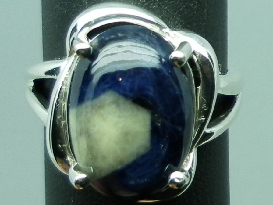 14kt Bi-color Sapphire Ring; FREE SIZING.