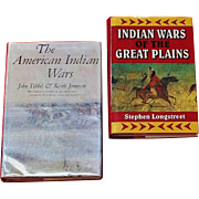 NATIVE AMERICAN INDIAN WARS BOOKS