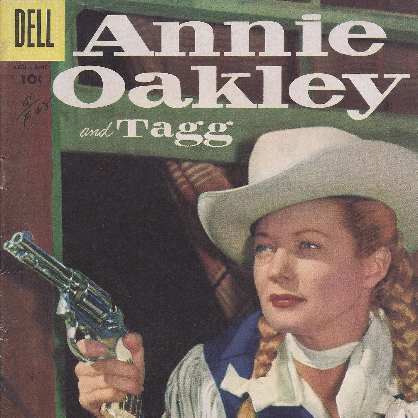 Annie Oakley And Tagg Dell 1956 Silver Age Comic Book From Atozantiques On Ruby Lane
