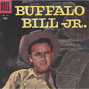 Buffalo Bill Jr. Dell 1956, No. 742 Silver Age Comic Book
