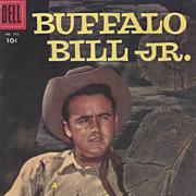 Buffalo Bill Jr. Dell 1956, No. 742 Silver Age Comic Book