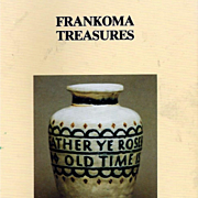 Frankoma Treasures American Art Pottery Book and Price Guide
