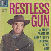 Restless Gun, Dell 1959, No. 986 Silver Age Comic Book