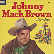 Johnny Mack Brown, Dell 1953, No. 455 Silver Age Comic Book