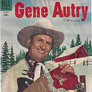 Gene Autry, Dell December 1954, No. 94, Silver Age Comic Book