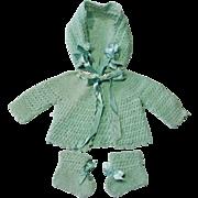 Baby Doll or Newborn 3 Piece Crocheted