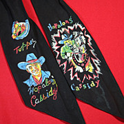 Hopalong Cassidy Neck Scarf or Tie