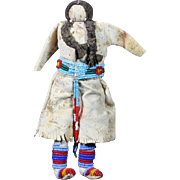 Native American Indian Crow Doll