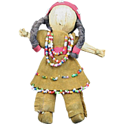 Native American Indian Tiny Seneca Doll