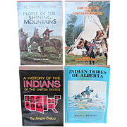 NATIVE AMERICAN INDIAN BOOKS:  UTES, BLACKFOOT,TRIBES OF ALBERTA AND NORTH AMERICA