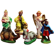 Japan Nativity Figures And Haco Religious Advent Calendar