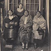 Native American Photograph Three Osage Women