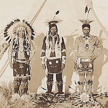 Native American Real Photo Post Card of Ft. Hall Indians