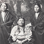Native American Indian Photograph Osage Women
