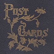 POST CARD OR PHOTOGRAPH ALBUM BOOK