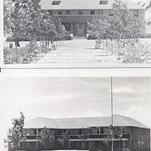 Real Photo Postcard Navajo Ganado Mission in Arizona