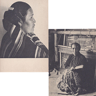Two Native American Indian Navajo Postcards