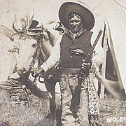 RPPC Native American Santee Sioux Man