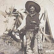RPPC Native American Santee Sioux Man
