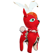 Stuffed Christmas Deer or Reindeer Decoration