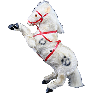Vintage Key Wind Circus Horse or Pony