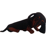Antique rare Steiff dachshund toy dog circa 1906