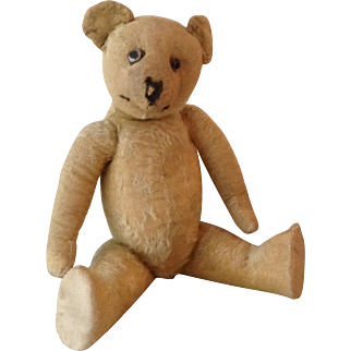 Antique early English teddy bear