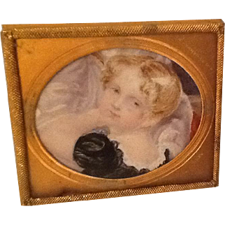 Beautiful antique frame for dolls house
