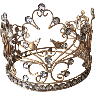 Fantastic vintage French decorative crown