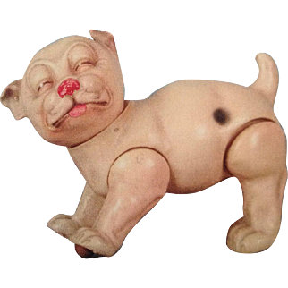Very rare Karl Standfuss Juno celluloid Bonzo dog circa 1920