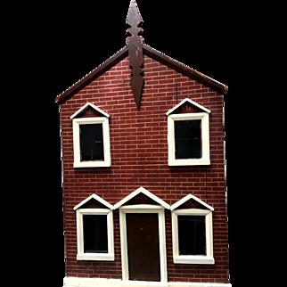 Antique Victorian English dolls house 1889