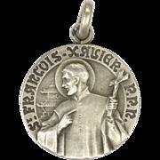 French St. François Xavier Silver Medal