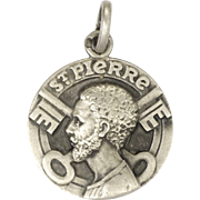 French St.Peter and Crossed Keys Silver Medal