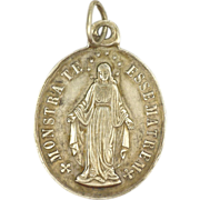 French 19c Silver Motherhood Medal