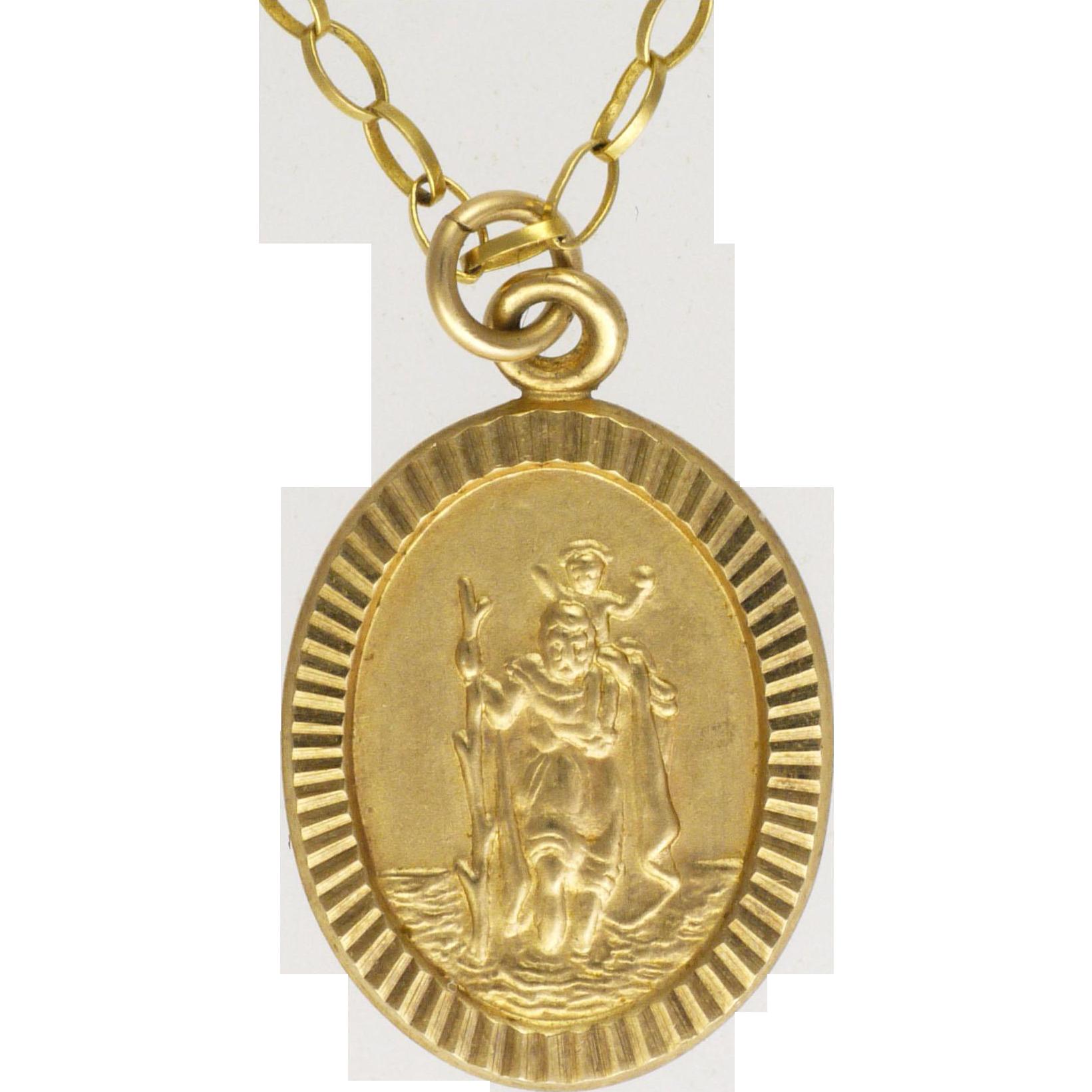 St Christopher Ring