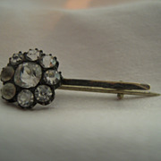 Victorian Haley Comet Paste Brooch