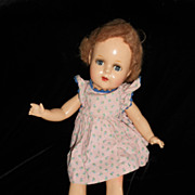 Sweet early Composition Doll with original wig and dress